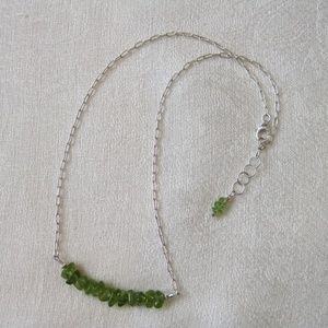 Delicate Peridot Necklace